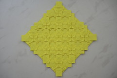 Pierced Stars (Arseni Ko) Tags: design origami pattern tesselation geometry symmetry paper