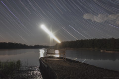 Concert at Midnight (György Soponyai) Tags: nightphoto nightfoto nightscape longexpo hungary tisza tiszafüred startrails startrail