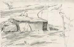 (Bohdan Tymo) Tags: pencil drawing spring countryside
