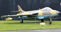 HAWKER HUNTER ELVINGTON - YORKSHIRE AIR MUSEUM (toowoomba surfer) Tags: jet aeroplane aviation aircraft museum airmuseum aviationmuseum