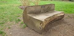 Watch Your Arse (standhisround) Tags: log benchmonday logbench hbm richmondpark london uk