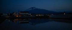 Evening Refelctions (jasohill) Tags: pond spring rice paddies iwate mtiwate nature photography life viewing color hachimantai 2019 japan adventure