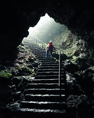 Lava Cave (Fabian Fortmann) Tags: smartphone sony xperia xz3 cave lava azores vacation light portugal azoren