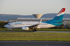 LX-LGQ Boeing 737-7C9 Luxair (eigjb) Tags: dublin airport eidw ireland international collinstown jet transport airliner aviation plane spotting aircraft airplane aeroplane 2019 lxlgq boeing 737 b737 7377c9 luxair luxembourg
