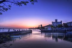 淡水 (yangjenghow) Tags: gfx tamron 35mm sunset long exposure riverside affinity photo