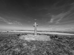 Ter Hill Cross (Marklucylockett) Tags: blackandwhite terhillcross terhill 2019 dartmoor dartmoornationalpark devon gopro goprohero7 marklucylockett may yelverton england unitedkingdom dartmoor365