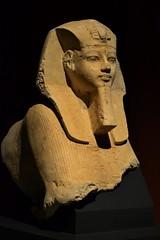 Sphinx of Amenhotep III (j. kunst) Tags: republikösterreich österreich republicofaustria austria 奥地利 wien vienna 維也納 kunsthistorischesmuseum khm museum sculpture statue limestone king pharaoh pharaonic lion amenhotepiii amenophisiii nebmaatre nbmaatra imnhtphqawast nemes uraeus inscription cartouche hieroglyph hieroglyphic egypt egyptian newkingdom 18thdynasty 14thcenturybce