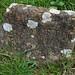 Bottesford 17th century tombstone