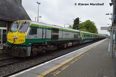 226 departs Portlaoise, 8/5/19 (hurricanemk1c) Tags: railways railway train trains irish rail irishrail iarnród éireann iarnródéireann portlaoise 2019 generalmotors gm emd 201 1625corkheuston 226