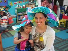 Hearts: Fun with mom (st.brigid2) Tags: hatparty