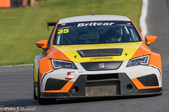 Brands Hatch 11 May 2019 (Peter Valcarcel) Tags: vehicles seatleontcr motorsportphotography britcar carracing brandshatch vehicle motorsport motorracing seat car britcarendurance dunlop clearways speed racing
