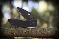 Spyderco, Manix 2. (EOS) 3 (Mega-Magpie) Tags: canon eos 60d outdoors spyderco manix 2 pocket knife sharp cmp s30v madeusa g10 handle tree branch tool handy