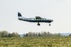 Another Safe Landing (stevedewey2000) Tags: salisburyplain wiltshire aircraft aeroplane cessna grandcaravan plane airplane sony70400g spta sptaeast landing gcpss