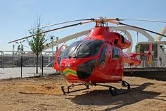 London's Air Ambulance in Wembley (kertappa) Tags: img1078 air ambulance londons london hems doctor paramedics hospital glndn emergency helicopter kertappa wembley