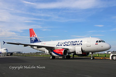 A319-132 OE-IAN (YU-APK) AIR SERBIA (shanairpic) Tags: jetairliner passengerjet a319 airbusa319 shannon cobalt airserbia oeian yuapk