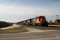 L501 CN 4704 Pewaukee, WI (wisconsinrails) Tags: cn canadiannational duplainville pewaukee wisconsin