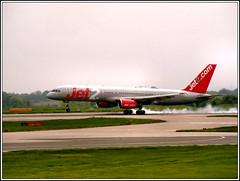 Jet2 Airways G-LSAA. (PS_Bus_Driver) Tags: jet2 glsaa boeing757 egcc manchesterairport jet2airways