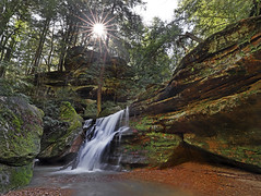 The Hidden Gem (Bill Fultz) Tags: cedar falls hidden hills hocking ohio park state waterfall waterfalls