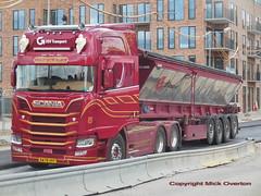 Next Generation Scania R580 v8 AW78497 articulated tarmac tipper (sms88aec) Tags: next generation scania r580 v8 aw78497 articulated tarmac tipper