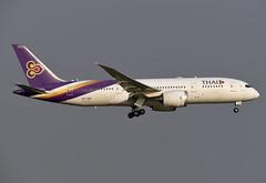 Thai Airways Boeing 787-8 Dreamliner HS-TQB Chaturaphak Phiman จตุรพักตรพิมาน (EK056) Tags: thai airways boeing 7878 dreamliner hstqb chaturaphak phiman จตุรพักตรพิมาน bangkok suvarnabhumi airport