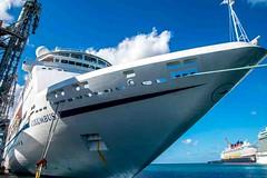 Columbus (Tony Shertila) Tags: americas nikon5300 northamerica barbados bridgetown caribean carving columbus cruise dock harbour ship tourist worldcruise 201901181607260