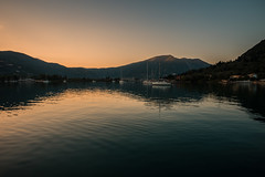 Sunset anchorage...... (Dafydd Penguin) Tags: sunset anchorage anchor yacht yachting sailinboat sail boat vessel water sea cruise cruising sailing reflections dusk vlikho lefkas ionian greece leica m10 21mm super elmar f34 asph