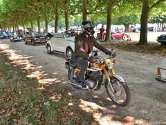 Honda 125 (pontfire) Tags: 11e traversée estivale de paris en anciennes vincennes véhicule collection oldtimer ancienne antique vieille old moto motorcycle motobike bike motocyclette vintage オートバイ motorrad motocicleta 摩托车
