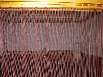 flexible mesh curtain