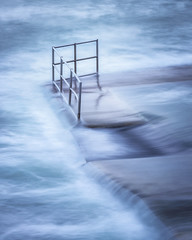 Take A Dip (Rich Walker Photography) Tags: bude cornwall sea pool abstract seascape seaside seascapes water ocean pattern patterns rail wall landscape landscapes landscapephotography canon england efs1585mmisusm eos eos80d coast coastal longexposure longexposures longexposurephotography