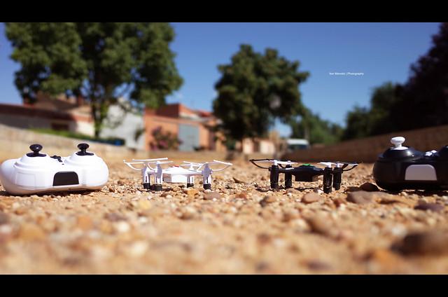 dron drone eachine h8 black white mini quadcopter ricoh gr ii 2 becerril de campos palencia spain castilla leon