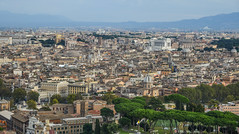 Aerial view of Vatican City (phuong.sg@gmail.com) Tags: above aerial ancient architecture basilica beautiful building capital cathedral catholic catholicism chapel christian church circle city cityscape column europe famous history italian italy landmark obelisk old panorama panoramic peter piazza place pope religion roma roman rome roof saint square st tourism town travel vatican view