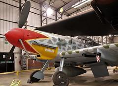 MESSERSCHMITT BF-109G YORKSHIRE AIR MUSEUM ELVINGTON (toowoomba surfer) Tags: warbird wwii aviation aircraft aeroplane museum airmuseum aviationmuseum