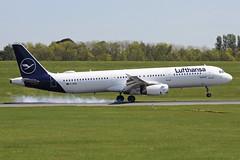 Lufthansa Airbus A321-231 D-AIDD BHX (bhx_flights) Tags: bhx egbb airport birmingham birminghamairport lufthansa airbus airbus321 airbusa321