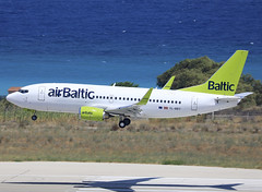 YL-BBY (QC PHOTOGRAPHY) Tags: rhodes diagoras greece july 28th 2018 air baltic b737300wl ylbby