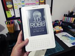 Creation in Death (J. D. Robb) (Luma Kimura) Tags: livros books kindle