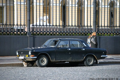 GAZ 24 Volga - Russia, Saint-Petersburg