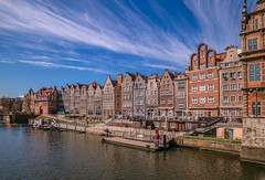 Gdansk (Vagelis Pikoulas) Tags: poland europe gdansk sea seascape landscape city cityscape urban canon 6d tokina 2470mm view architecture houses sky blue april spring 2019