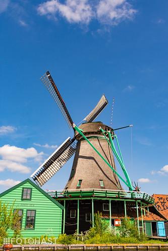 De molen op de Zaanse Schans