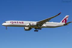 F-WZGC Airbus A350 Qatar Airways (@Eurospot) Tags: fwzgc a7ani airbus a350 a3501000 qatarairways toulouse blagnac