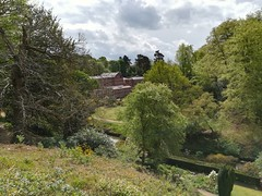 Looking down on Quarry Bank Mill (daveandlyn1) Tags: quarrybankmill fromabove nationaltrust cheshire trees house mill river smartphone psdigitalcamera cameraphone pralx1 p8lite2017 huawei