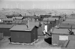 28 South Gare Fishermen's Huts, Redcar (I ♥ Minox) Tags: film 2019 olympus om1 om1n olympusom1n olympusom1 om1072 hp5 ilford ilfordhp5plus 400asa ilfordhp5 southgare redcar