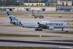 2019-02-16 MIA EI-GGP (Paul-H100) Tags: 20190216 mia eiggp airbus a330 air italy