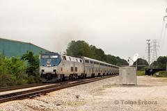 Lakeside Crossovers (TolgaEastCoast) Tags: amtrak auto train p053 richmond lakeside virginia railfan p40dc