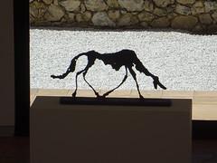 Le Chien (The Dog) - Sculpture by Alberto Giacometti