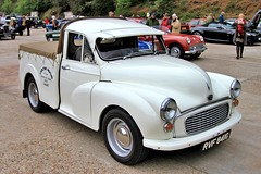 1968 Austin Pick up RVF 841G (BIKEPILOT, Thx for + 5,000,000 views) Tags: 1968 austin pickup rvf841g brooklandsmuseumbritishmarquesday weybridge surrey uk classic vintage vehicle transport commercial england britain icon truck
