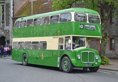 595 LCG (tubemad) Tags: 595lcg aec renown park royal fokab winchester bus rally preserved