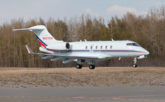 CL-300 | N307EM | ANC | 20150510 (Wally.H) Tags: cl300 bombardier challenger300 bd100 n307em anc panc anchorage airport
