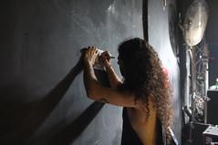*** (Boris Rozenberg) Tags: dimaura blackmetal cd photography light lightening shadow shadows composition fujix100 x100 moment snapshot snap hair signingcd wall club metalist metalhead metal concert gig