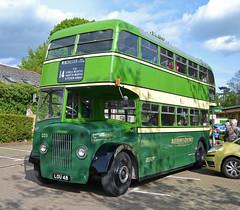 LOU 48 (tubemad) Tags: lou48 ecw dennis lance aldershotdistrict winchester bus rally preserved