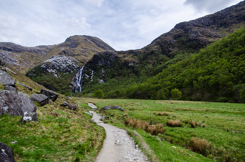 Path to Steall Falls